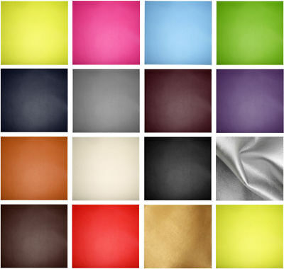 A4 or A5 Sheets Faux Leather Leatherette Vinyl Fabric Material for Crafts & Bows