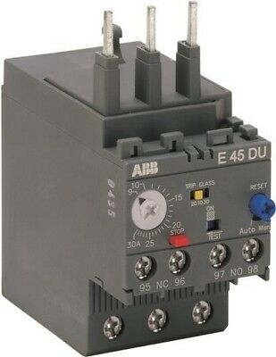 *NEW* ABB  E45DU-30  Electronic Overload Relay 1SAX2111001R1101 9.0-30 A