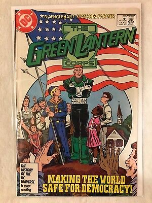 The Green Lantern Corps #210 (Mar 1987, DC) FN+