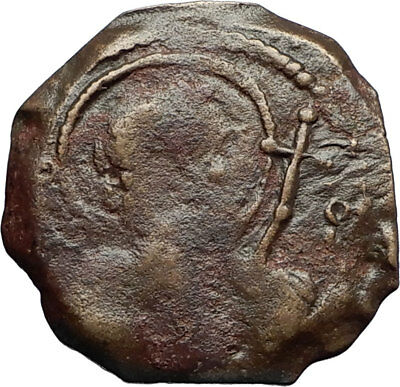 CRUSADERS of Antioch Tancred Ancient 1101AD Byzantine Time Coin St Peter i69640