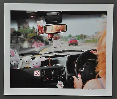 Martin Parr Ltd. Ed. Photo Print 35x30cm Driving Great Britain 1994 From A to B
