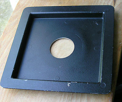 genuine Arca Swiss recessed 171mm lensboard for copal 1 13mm recess