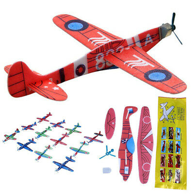 Launch Glider Plane Gift Rotating Kids Toy Outdoor EPP Foam Hand Throw Airplane