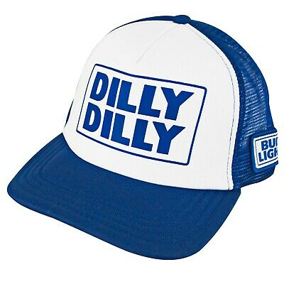 f29cb656 BUD LIGHT SNAPBACK Dilly Dilly Trucker Hat Blue - $24.98 | PicClick