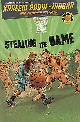 LA Lakers Star Kareem Abdul Jabbar Stealing the Game AUTOGRAPHED SIGNED