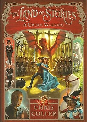GLEE Chris Colfer The Land of Stories A Grimm Warning AUTOGRAPHED SIGNED