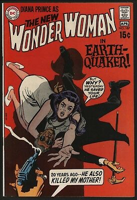 Wonder Woman #187 Very Glossy Cents Copy With White Pages April 1970 Scarce