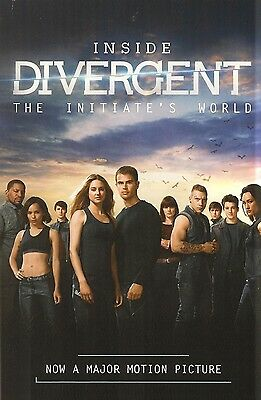 Inside Divergent Theo James Maggie Q Shailene Woodley Veronica Roth AUTOGRAPHED