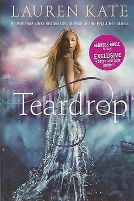 Teardrop Lauren Kate Author of Fallen Series POSTER INCLUDED AUTOGRAPHED SIGNED
