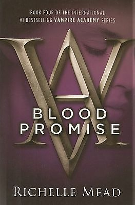 Vampire Academy Blood Promise Book 4 Richelle Mead AUTOGRAPHED SIGNED