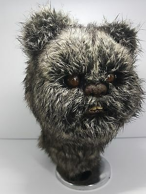 Ewok collectible prop replica head