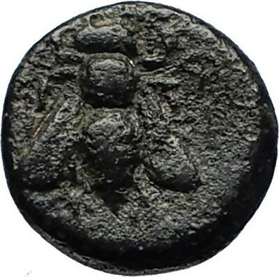 EPHESOS in IONIA Genuine 387BC Bee Female Authentic Ancient Greek Coin i69652