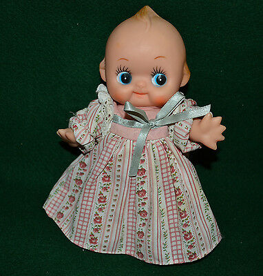 Vtg Kewpie Doll - Made In Taiwan /8''