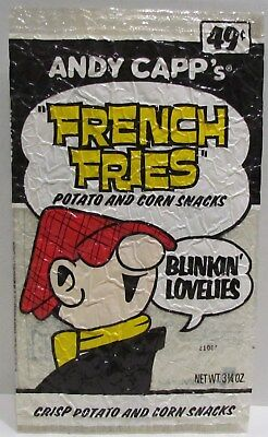 1970's Andy Capp's French Fries Bag