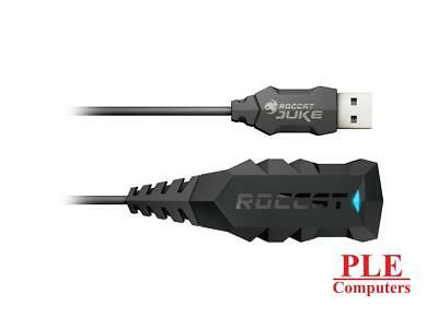 ROCCAT JUKE 7.1 with USB Stereo Soundcard & Headset Adapter [ROC-14-110-AS]