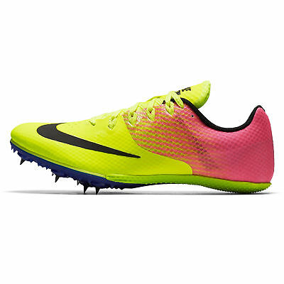 61a9279e406 NEW - NIKE Zoom Rival S 8 Women s Volt Pink Blue Track Racing Spikes ...