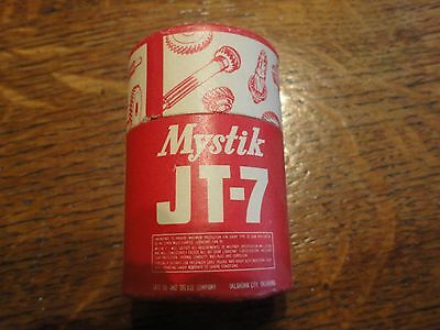 "Old ""Mystic JT-7 Gear Lubricant"" Oil Can Shaped (Cylinder) Matches - NEVER USED!"