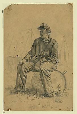 Eye Witness American Civil War Sketches Alfred R. Waud + 6 Book Scans Posters