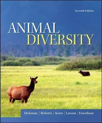 Animal Diversity by Hickman  Jr. Emeritus, Cleveland P, Roberts, Larry S, Keen,