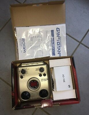 ZOOM G1N GUITAR EFFECTS PEDAL Multi-Effects G1NEXT+Power supply+Manual+OVP