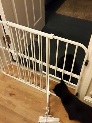 Safety Gate, Lockable Cat Flap. Pressure Fixed. Baby/pet Stair Gate.