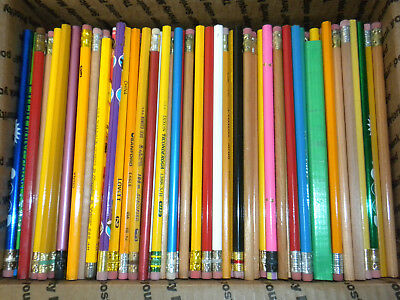 Lot of APPROX. 600 NEW Pencils Assorted Styles & Colors.   UNSHARPENED
