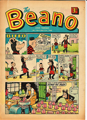 BEANO  # 1244 May 21st 1966 issue the comic