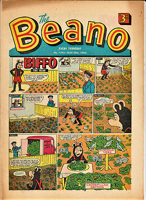 BEANO  # 1245 May 28th 1966 issue the comic