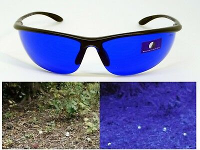 540567af911 Golf Ball Glasses Ball Finder Blue Lens Sports Wrap Sunglasses Enhance White