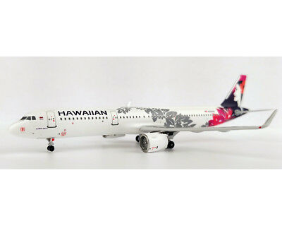 Aeroclassics ACN204HA Hawaiian Airlines A321neo N204HA Diecast 1/400 Jet Model