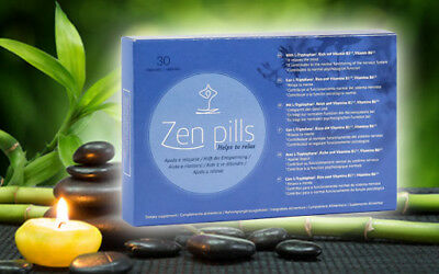 2018 Zen Pilules Relax Capsules pour Contrôle Anxiety-Quick&fast Effect-100%