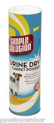 Simple Solution Dog Urine Dry Carpet Powder Fast Acting Stain Odour Remover 680g