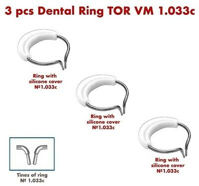 3X Dental Ring for Sectional Metal Matrices Matrix as Palodent TOR VM 1.033с