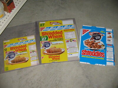 cereal box UK 1984 TRANSFORMERS Hasbro G1 Shredded Wheat 12 (1 item)