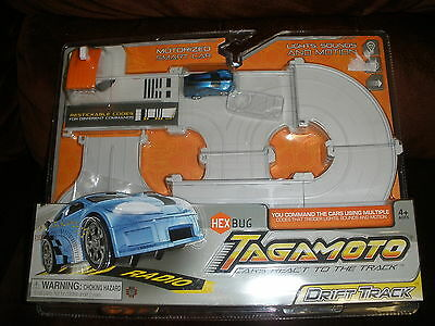 Hex Bug Tagamoto Drift Track with Checkmate 122 (Blue) Customized and Motorized