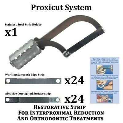 Proxicut Orthodontic Dental IPR System Enamel Interproximal Reduction Crown TOR