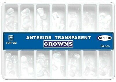 Dental Transparent Crown Anterior 64 pcs Matrices Matrix TOR vm original 1.910