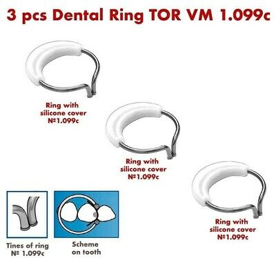 3X Dental Ring for Sectional Metal Matrices Matrix as Palodent TOR VM 1.099с