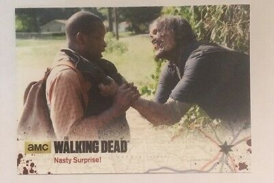 #22 Nasty Surprise! Card The Walking Dead Season 4 Part 2