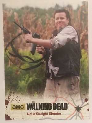 #47 Not A Straight Shooter Card The Walking Dead Season 4 Part 2