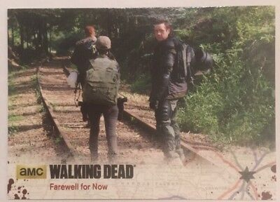 #62 Farewell For Now Card The Walking Dead Season 4 Part 2