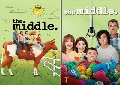 The Middle Season 7 + 8 Series Seven + Eight Region 4 DVD New