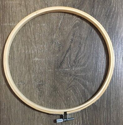 Round Bamboo Embroidery Hoop 20cm