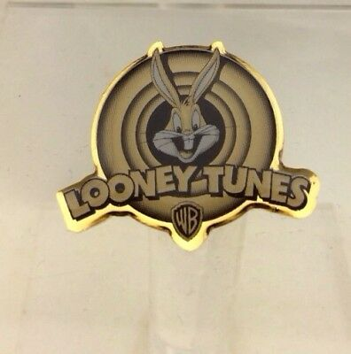 Vintage NEW 1999 Warner Bros TM BUGS BUNNY Looney Toons PIN Lapel