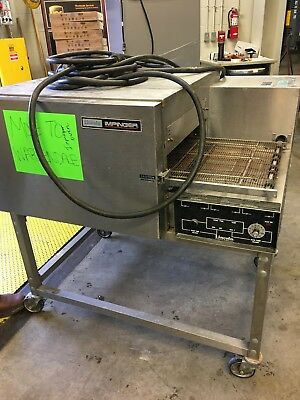 "LINCOLN IMPINGER 1132 Electric Convection 18"" Wide Conveyor Pizza Sub Oven 208v"