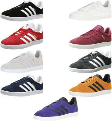 Adidas Gazelle Men's Athletic Sneakers Shoes, 9 Colors Black, White, Red, Grey..