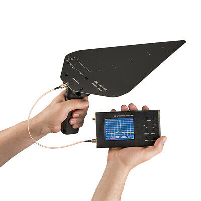 Broadband 6 dB UWB measuring test antenna 600 MHz to 6 GHz with handle