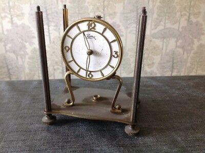 Vintage Koma 400 Day Anniversary Clock For Repair Spare Parts 140x130x95mm