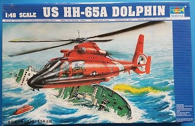 Trumpeter 1:48 US HH-65A Dolphin Kit No. 02801