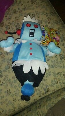 "New NWT 2012 Sugar Loaf Rosie Plush 14"" The Jetsons Go Green Hanna Barbera"